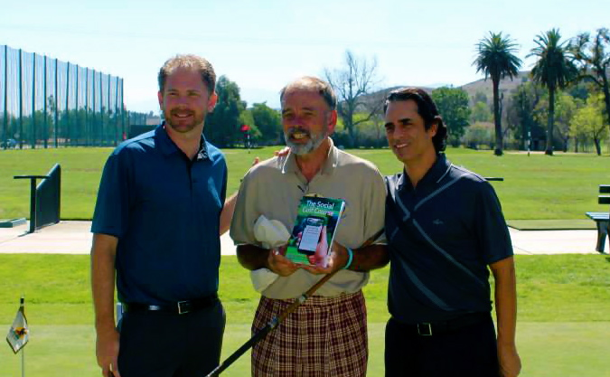 Zeb Welborn, David Kramer, John Hakim The Social Golf Course Book Launch