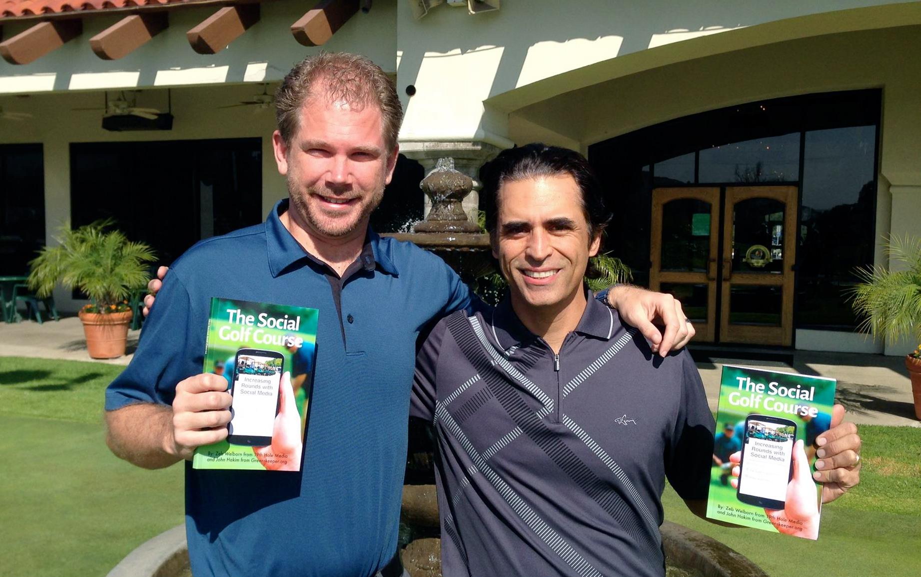 Book Launch Zeb Welborn and John Hakim