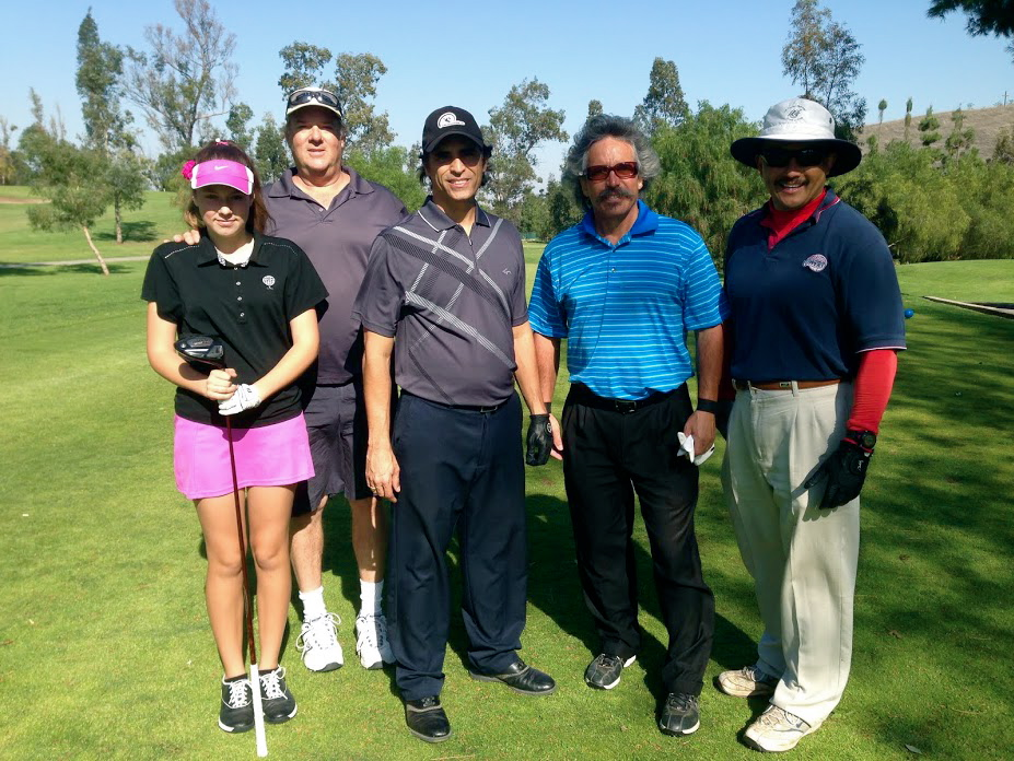 Social Golf Course Tournament Group